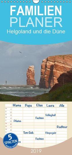 Helgoland und die Düne – Familienplaner hoch (Wandkalender 2019 , 21 cm x 45 cm, hoch) von el.kra-photographie