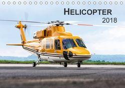 Helicopter 2018 (Tischkalender 2018 DIN A5 quer) von Neubert,  Jens