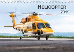 Helicopter 2019 (Tischkalender 2019 DIN A5 quer) von Neubert,  Jens