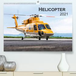 Helicopter 2021 (Premium, hochwertiger DIN A2 Wandkalender 2021, Kunstdruck in Hochglanz) von Neubert,  Jens