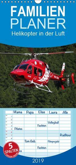 Helikopter in der Luft – Familienplaner hoch (Wandkalender 2019 <strong>21 cm x 45 cm</strong> hoch) von Hansen,  Matthias