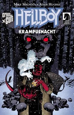 Hellboy: Krampusnacht von Hughes,  Adam, Mignola,  Mike