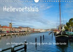 Hellevoetsluis – ein fotografischer Streifzug durch die Niederlande (Wandkalender 2019 DIN A4 quer) von Kools,  Stefanie