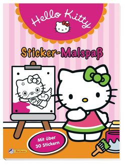 Hello Kitty: Sticker-Malspaß von Hello Kitty