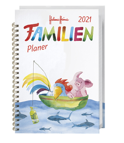 Helme Heine Familienplaner Buch A5 Kalender 2021 von Heine,  Helme, Heye