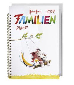 Helme Heine Familienplaner Buch A6 – Kalender 2019 von Heine,  Helme, Heye