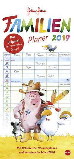 Helme Heine Familienplaner – Kalender 2019 von Heine,  Helme, Heye