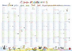Helme Heine Posterplaner – Kalender 2019 von Heine,  Helme, Heye