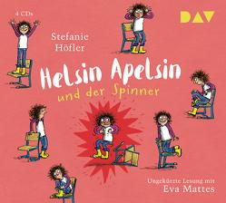 Helsin Apelsin und der Spinner von Höfler,  Stefanie, Krewer,  Harald, Kuhl,  Anke, Mattes,  Eva