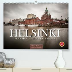 Helsinki / Besuchen – Entdecken – Erleben (Premium, hochwertiger DIN A2 Wandkalender 2021, Kunstdruck in Hochglanz) von Pinkoss,  Oliver