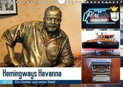 Hemingways Havanna – Ein Dichter und seine Stadt (Wandkalender 2019 DIN A4 quer) von von Loewis of Menar,  Henning