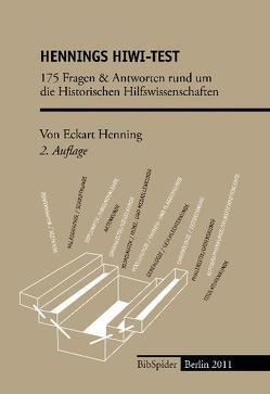 Hennings HiWi-Test 2. Auflage von Henning,  Eckart