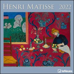 Henri Matisse 2022 – Wand-Kalender – Broschüren-Kalender – 30×30 – 30×60 geöffnet – Kunst-Kalender von Matisse,  Henri
