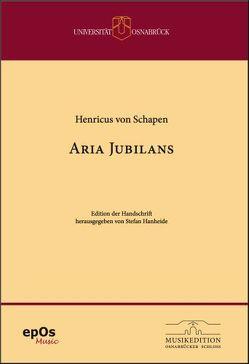 Henricus von Schapen – Aria Jubilans zu 29 Stimmen von Hanheide,  Stefan