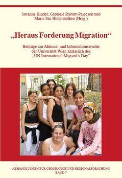 Heraus Forderung Migration von Binder,  Susanne, Hohenbalken,  Maria, Rasuly-Paleczek,  Gabriele
