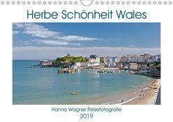 Herbe Schönheit Wales (Wandkalender 2019 DIN A4 quer) von Wagner,  Hanna