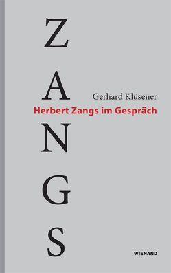 Zangs von Klüsener,  Gerhard