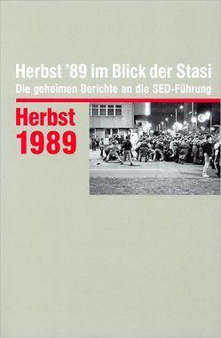 Herbst '89 im Blick der Stasi von Münkel,  Daniela
