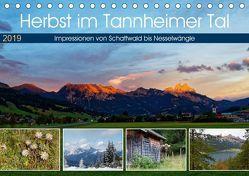 Herbst im Tannheimer Tal – Impressionen von Schattwald bis Nesselwängle (Tischkalender 2019 DIN A5 quer) von Eisold,  Hanns-Peter