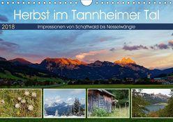 Herbst im Tannheimer Tal – Impressionen von Schattwald bis Nesselwängle (Wandkalender 2018 DIN A4 quer) von Eisold,  Hanns-Peter