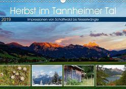 Herbst im Tannheimer Tal – Impressionen von Schattwald bis Nesselwängle (Wandkalender 2019 DIN A3 quer) von Eisold,  Hanns-Peter