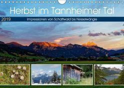 Herbst im Tannheimer Tal – Impressionen von Schattwald bis Nesselwängle (Wandkalender 2019 DIN A4 quer) von Eisold,  Hanns-Peter