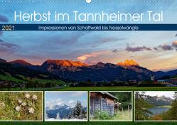 Herbst im Tannheimer Tal – Impressionen von Schattwald bis Nesselwängle (Wandkalender 2021 DIN A2 quer) von Eisold,  Hanns-Peter
