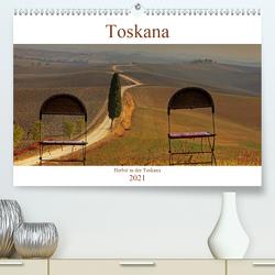 Herbst in der Toskana (Premium, hochwertiger DIN A2 Wandkalender 2021, Kunstdruck in Hochglanz) von Kruse,  Joana