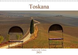 Herbst in der Toskana (Wandkalender 2021 DIN A3 quer) von Kruse,  Joana
