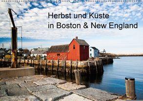 Herbst und Küste in Boston & New England (Wandkalender 2018 DIN A2 quer) von Sandner,  Annette, www.culinarypixel.de