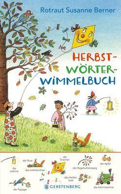 Herbst-Wörterwimmelbuch von Berner,  Rotraut Susanne