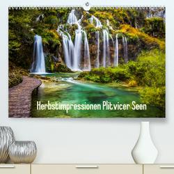 Herbstimpressionen Plitvicer SeenAT-Version (Premium, hochwertiger DIN A2 Wandkalender 2020, Kunstdruck in Hochglanz) von Kaufmann,  Franz