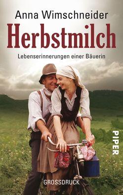 Herbstmilch von Wimschneider,  Anna