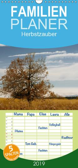 Herbstzauber – Familienplaner hoch (Wandkalender 2019 , 21 cm x 45 cm, hoch) von Klinkowitz,  Gerd