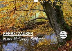 Herbstzauber in der Maisinger Schlucht (Wandkalender 2019 DIN A4 quer) von Frost,  Anja