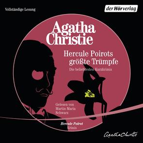 Hercule Poirots größte Trümpfe von Schwarz,  Martin Maria