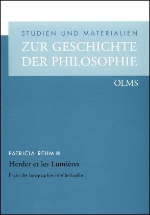 Herder et les Lumières von Rehm,  Patricia