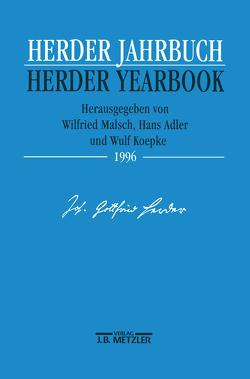 Herder-Jahrbuch / Herder Yearbook 1996 von Adler,  Hans, Koepke,  Wulf, Malsch,  Wilfried