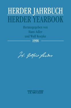 Herder Jahrbuch / Herder Yearbook 1998 von Adler,  Hans, Koepke,  Wulf