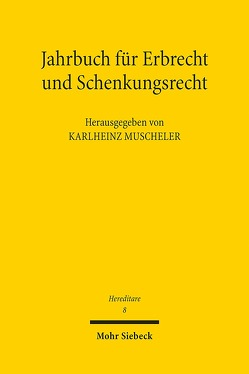 Hereditare – Jahrbuch für Erbrecht und Schenkungsrecht von Muscheler,  Karlheinz