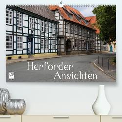 Herforder Ansichten (Premium, hochwertiger DIN A2 Wandkalender 2021, Kunstdruck in Hochglanz) von Kleinfeld,  Thorsten