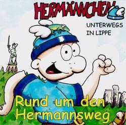 Hermännchen – unterwegs in Lippe – Teil 8: Rund um den Hermannsweg von Hütte,  Manfred, Schäferjohann,  Marc