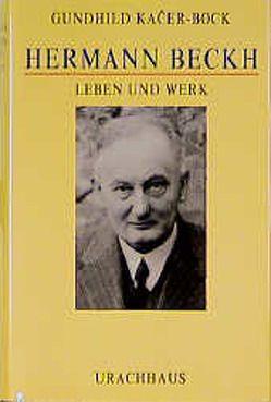 Hermann Beckh von Kacer-Bock,  Gundhild