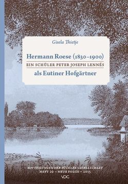 Hermann Roese (1830-1900) von Thietje,  Gisela