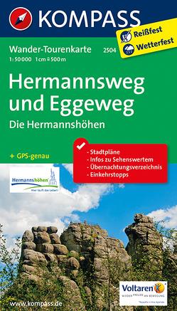 Hermannsweg und Eggeweg, Die Hermannshöhen von KOMPASS-Karten GmbH