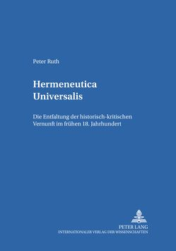 Hermeneutica universalis von Ruth,  Peter