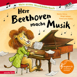 Herr Beethoven macht Musik von Antoni,  Birgit, Kühler,  Anna-Lena, Simsa,  Marko