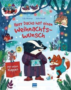 Herr Dachs hat einen Weihnachtswunsch – Eine Weihnachtsmärchen für Kinder ab 3 Jahren von Murray,  Lily, Woolf,  Julia