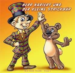 Herr Kariert und der kleine Strickbär von Andiel,  Gerd