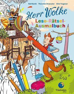 Herr Wolke – Lese-Rätsel-Ausmalbuch von Barth,  Rolf